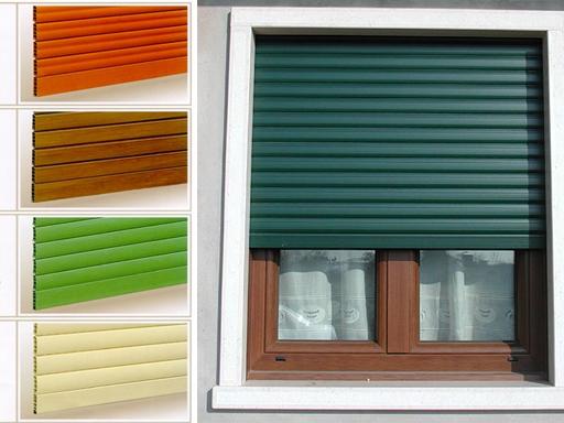 Avvolgibili in pvc o alluminio - Serrande avvolgibili per finestre ...