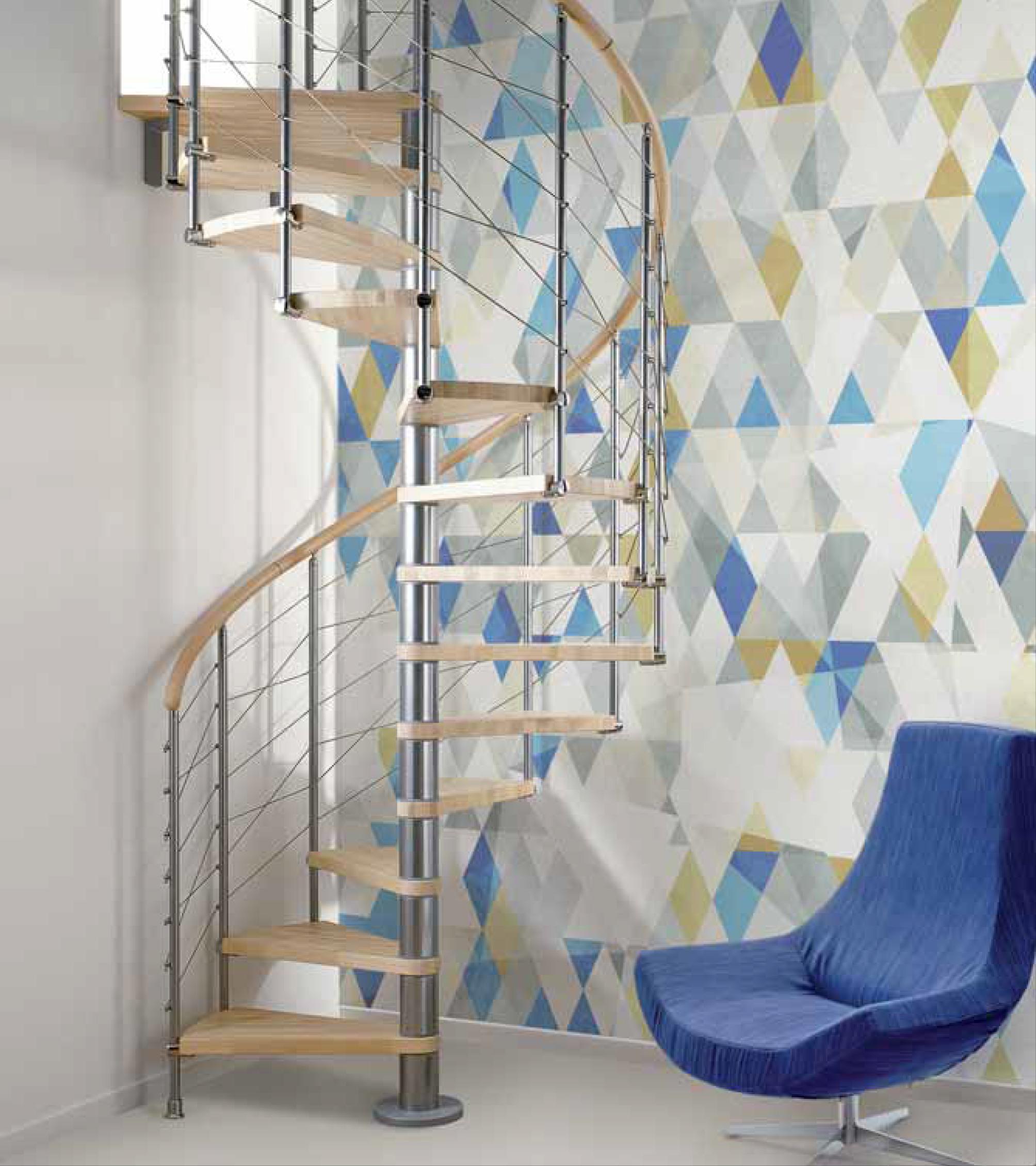 Scale A Chiocciola Moderne showroominfissi è un azienda che si occupa della produzione