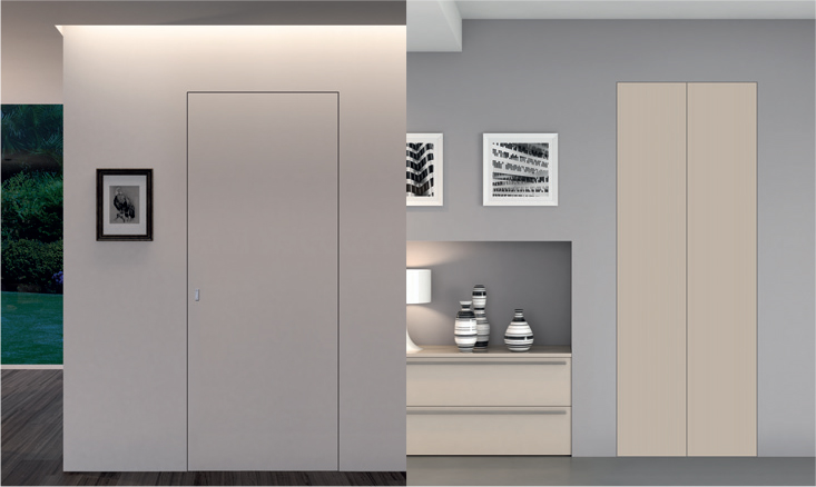 Porte da interni collezione walldoor for Finestra scorrevole leroy merlin