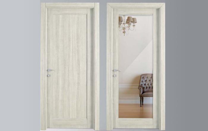 Porte da interni Bianco con finitura MATERIK propone uno stile ...